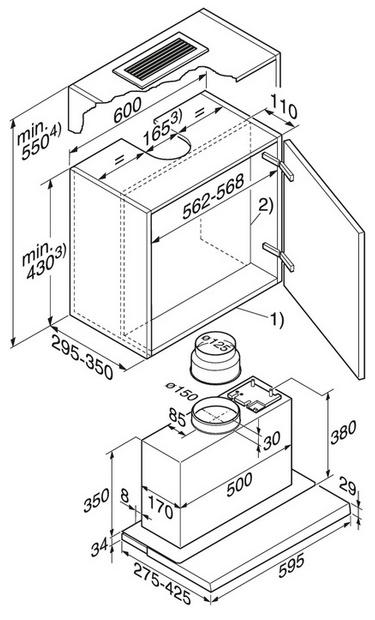 miele flachpaneel dunstabzugshaube da 3060. Black Bedroom Furniture Sets. Home Design Ideas